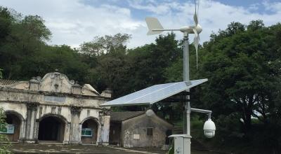 监控系统风光互补供电